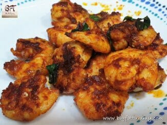 Quick Prawn Masala Fried