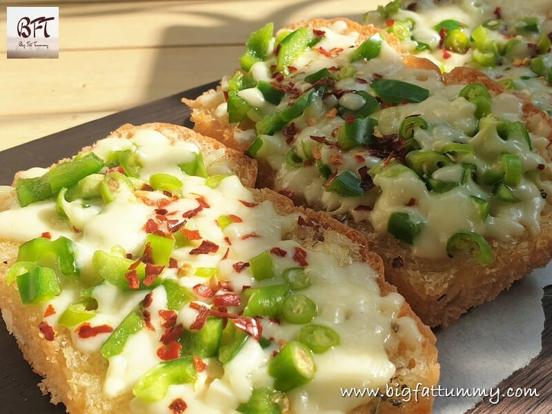 Cheese Chilli / Chilly Toast