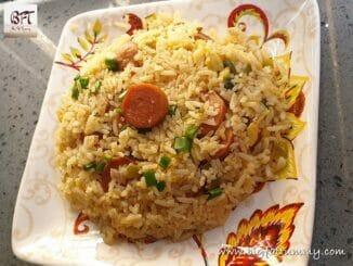 Chicken Sausage Fried Rice