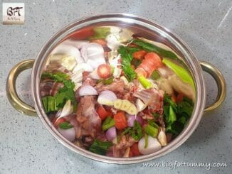 Making of Chicken Stock