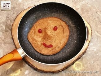 Eggless Sweet Wheat Flour Polle / Pancakes