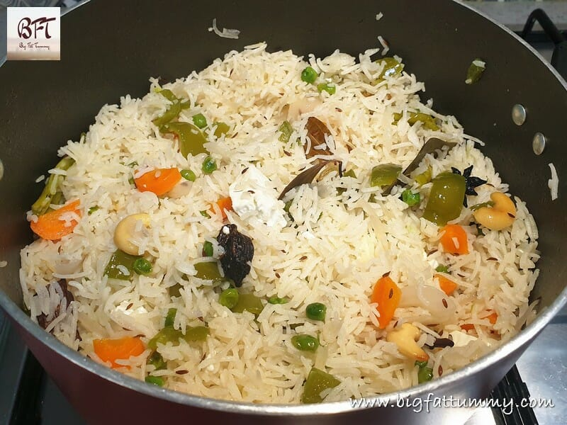 One Pot Vegetable Pulao