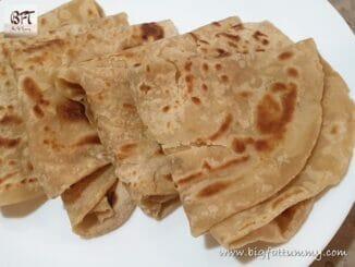 Wheat Flour Tawa Parathas