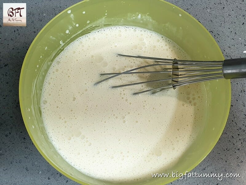 Making of Misu's Dessert