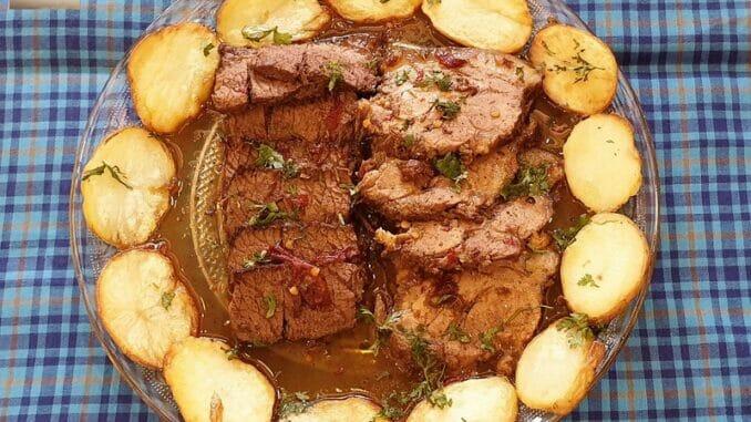 Pork and Beef Assado